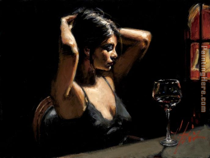 The Dark Room II painting - Fabian Perez The Dark Room II art painting